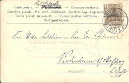 67    Strasbourg , FELICITATION    ( Voir Timbre , Verso ) - Alsace-Lorraine