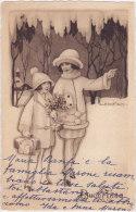 CARD BERTIGLIA  BUON ANNO -FP-VDB-2-0882-18798 - Bertiglia, A.
