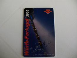Wurth Portuguese Plastic Pocket Calendar 2000 - Calendari