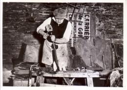 Herbeumont  -  Ardoisières  -  Fendeur D'ardoise  -  1953  -  Musée De La Vie Wallonne, Liège - Herbeumont