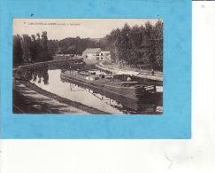 6118/  CHATILLON SUR LOIRE  Canal Et Belle Peniche   //  UNE LEGERE CORNURE  SINON TTB  // 6 - Chatillon Sur Loire