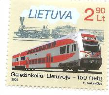 Lithuania 2009 Train /Transport / Railway OLD ,MODERN MNH - Trains