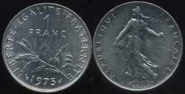 FRANCE  1 Franc 1975  Semeuse  SUP - Francia