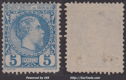 *PROMO* 5c Charles III Neuf * Aspect TB (Y&T N° 3 , Cote 103€) - Monaco