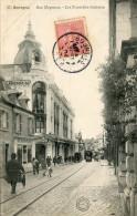 CPA 18 BOURGES RUE MOYENNE LES NOUVELLES GALERIES 1904 - Bourges