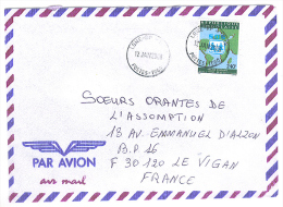 VEND TIMBRE DU TOGO N° A2979 , SUR LETTRE , COTE : ?, !!!! (n) - Togo (1960-...)