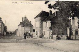 CHABLIS - Avenue De Poinchy Attelage Agricole Animé - Chablis