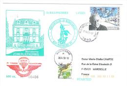 VEND 13e BALLONKOERIER , 1996 , N° 406 / 600 EX + N° 2623 + 2629 ( COB ) - Postmark Collection