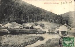 Cp Noncourt Haute Marne, Les Forges, Schmiede Am Wasser Gelegen - Autres Communes