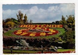 CP 10*15/AC351/OOSTENDE L HORLOGE FLEURIE - Oostende