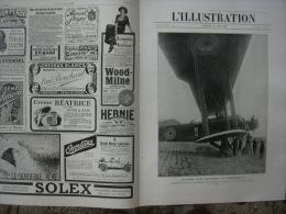 L'ILLUSTRATION 3925 AVION GEANT ANGLAIS / TAHITI/ AVIATEURS GILBERT & LUFBERY/ AMIRAL WILSON  25 Mai 1918 - L'Illustration