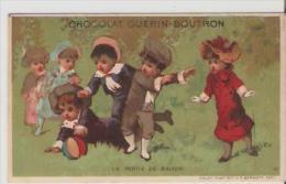 Chocolat Guerin-Boutron. La Partie De Ballons. - Guérin-Boutron
