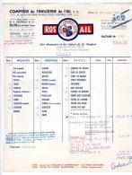 Rosail - Comptoir De L'industrie De L'Ail, Ets F. Rochias & Cie, Billom (Puy De Dôme) - 1961 - Alimentaire