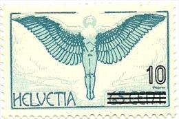 1935 - Svizzera PA 25 Soprastampato C2757*^ - Luftpost