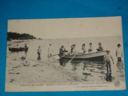 33) Taussat-les-bains - N° 7 - Prmenade Sur Le Bassin  -  Année 1922 - EDIT - Grelaud