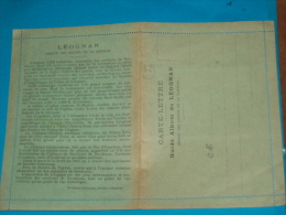33) Léognan - Carte Lettre - Carte Systéme Album ( 10 Vus )  -  Année  - EDIT - Guillier - Other Municipalities
