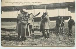 ARRACOURT  - Un Aéroplane Allemand Atterrit à Arracourt, M Lacombe Sous Préfet Faisant L'enquête. - 1914-1918: 1a Guerra