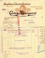 59 - CAMBRAI - FACTURE MANUFACTURE DE CHICOREE - CASIEZ-BOURGEOIS - A MME JOLLY A LATILLE - 1940 - 1900 – 1949