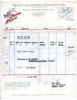 Pacha Hygie - Société Alsacienne D'alimentation Pour Chiens Et Chats, Route De Bischwiller, Schltigheim - 1963 - Levensmiddelen