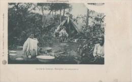 La Vie De Brousse  Europeen Au Campement - Congo Français - Autres