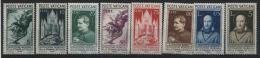 1936 Vaticano, Stampa Cattolica, Serie Completa Nuova Linguellata (*)