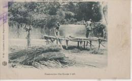 .HAUT OUBANGUI ( Construction D' Un Grenier A Mil ) - Congo Français - Autres