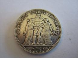 5 F  HERCULE 1875 A - France