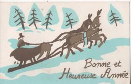 BONNE ET HEUREUSE ANNEE - Neujahr