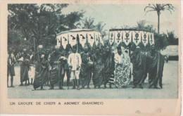 ABOMEY ( Un Groupe De Chefs ) - Dahomey