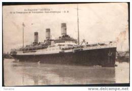 "La Paquebot ""LUTETIA"".Compagnie Navigation Sud-Atlantique - Dampfer"