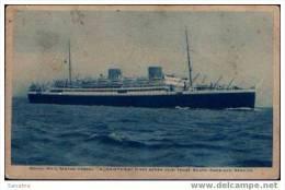 """ALCANTARA""  (22181 Tons) South Americas Servis - Dampfer"