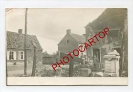 OOSTROZEBEKE-Carte Photo Allemande-Guerre 14-18-1WK-BELGIQUE-BELGIEN-Flandern- - Oostrozebeke