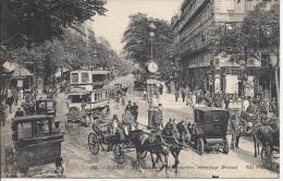 8480 Paris Le Boulevard De Montmartre Carrefour Drouot - Autres Monuments, édifices