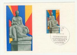 DDR Maximumkarte Michel No. 1512 Ersttagsstempel FDC
