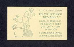 Carte De Parfum: Polvo Higienico Nevadina (9´5 X 5´5 Cms) (Ref.64902) - Oud (tot 1960)