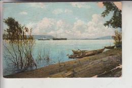 RU - RUSSLAND, Vue Sur Le Wolga, Blick Auf Die Wolga, 1914, Kl. Eckknick - Russland