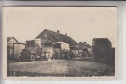 MILITÄR - 1.Weltkrieg, 1916, LKW - Ausrüstung