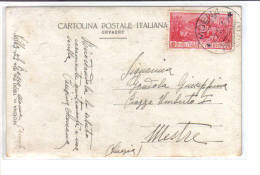 MOENA (TN) - Fotografica Partel - Buona Affrancatura - F.p. - Anni '1920/'30 - Italie