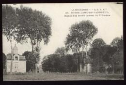 Cpa Du 27  Notre Dame Du Vaudreuil  Ruines D´un Ancien Château Du XIV è Siècle  LOR8 - Le Vaudreuil