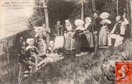 29 ,salut A La Mariee, Etude Des Differents Costumes De Cornouailles - France