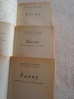 La TRILOGIE De MARCEL PAGNOL - 3 Poches Anciens - Etat Correct - Livres, BD, Revues