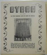 Plaquette Publicité Byrrh Décors Et Costumes Tirage Pochette Numérotée Avec Dessins Descossy-Hugo-Milhau-Darche - Publicités