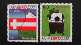 Austria - 2008 - Mi.Nr.2726-7** MNH- Look Scan - 2001-10 Nuovi & Linguelle