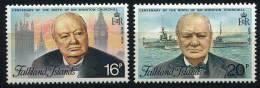 ANTARCTIC, FALKLAND ISL., Set Mi-No. 230/31 , Perfect, Xx Mint Never Hinged !! - Polar Philately