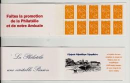 57 - Thionville - Carnet Privé Amicale Philatélique - Carnets
