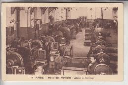 BANK - MÜNZEN / COINS - Paris - Hotel Des Monnaies, Atelier De Laminage - Banques