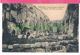 ITALIE ; SIRACUSA Castello Eurialo All'epipoli 3° Fossato - Siracusa
