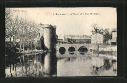 CPA Parthenay, Le Thouet Et Le Pont St-Jacques - Parthenay