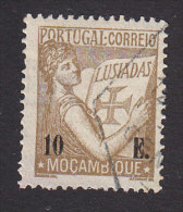 """Mozambique, Scott #268, Used, """"Portugal"""" Holding Volume Of The """"Lusiads"""", Issued1933 - Mozambique"""
