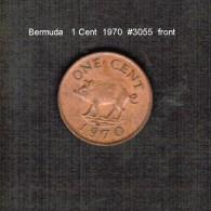 BERMUDA    1  CENT  1970  (KM # 15) - Bermudes